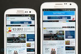 Galaxy Note II compared to Galaxy S II