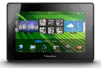 Image of Blackberry Playbook