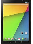 A view of Nexus 7 front side
