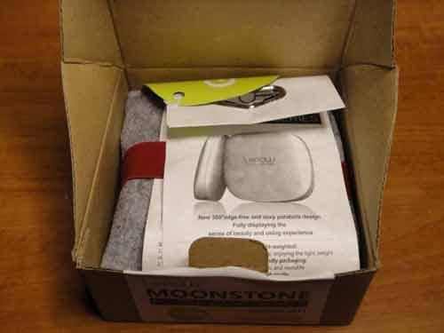 Moonstone packaging